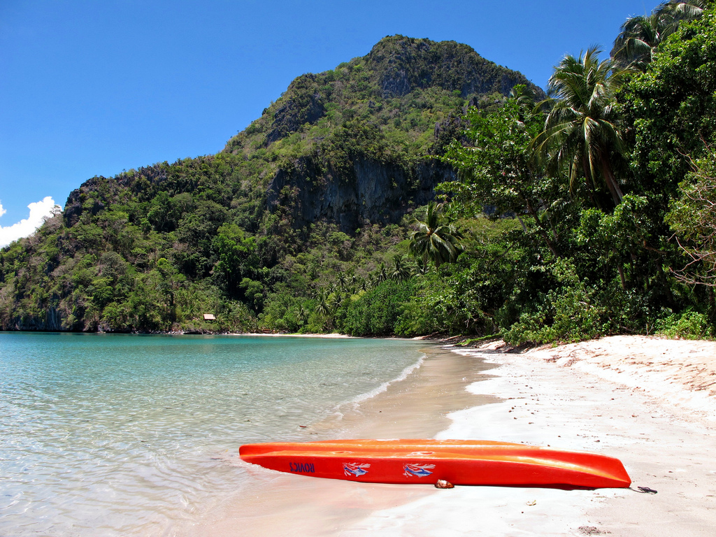 Kayaking in the Philippines