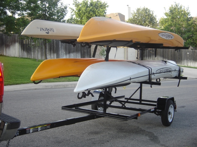 Transporting a Kayak