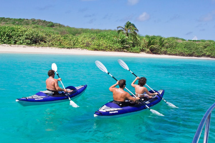Aquaglide Columbia Xp Two Inflatable Kayak 2 Person And