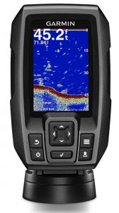 Garmin Striker 4 fish finder with Chirp transducer and GPS