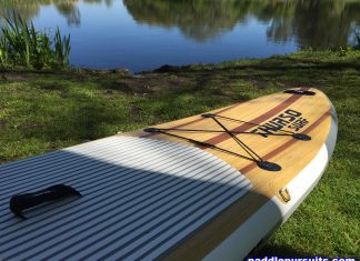 Thurso Surf Waterwalker 10'6 SUP - great design and large deck pad