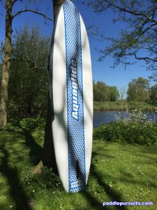 Aquaglide Cascade standup paddleboard - stylish design all-around SUP