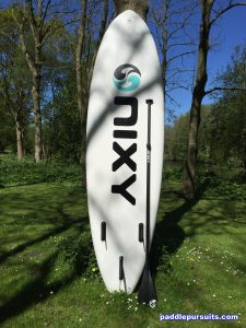 Nixy Newport G2 10'6 inflatable paddleboard - great overall performance for beginner and advanced SUP rider