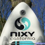 Nixy Newport G2 inflatable SUP - inflatation deflation valve at the nose for easy checking
