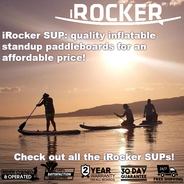 Quality Inflatable Standup Paddleboards by iRocker SUP paddlepursuits