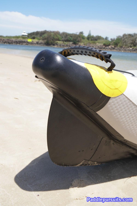 Bay Sports Air Glide 473 inflatable kayak - Hybrid Design