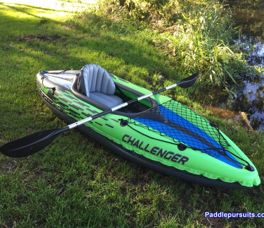 Intex Challenger K1 - complete package inflatable kayak