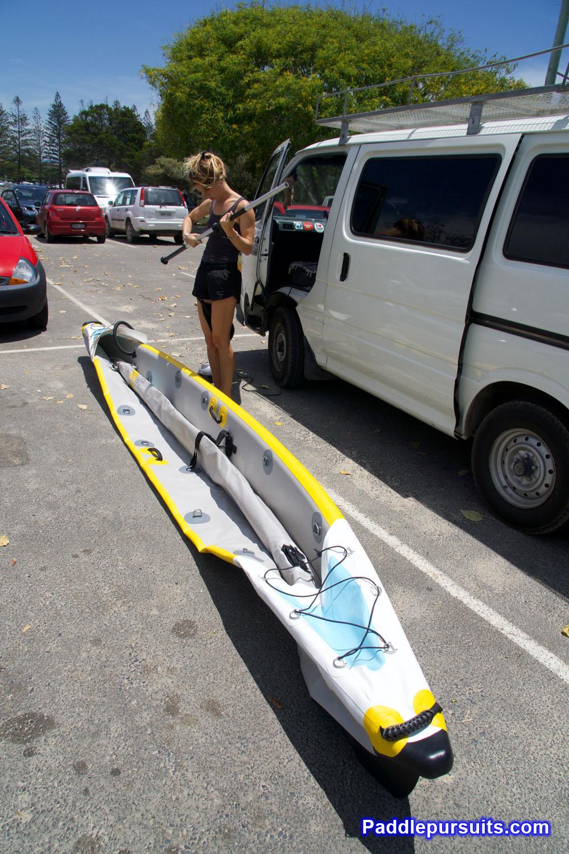 Inflating Kayak