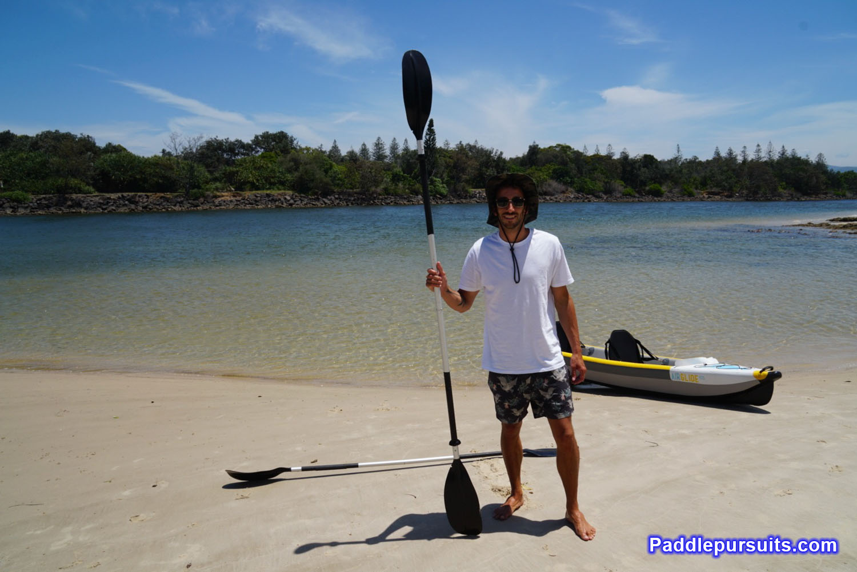Bay Sports Air Glide 473 inflatable kayak - Oar Kayak