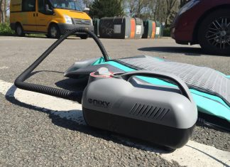 Nixy Sports Electric SUP Pump - Blow up your paddleboard quickly