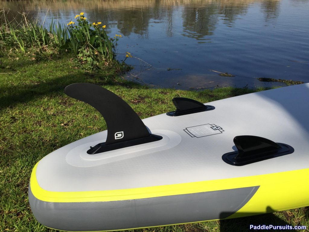 Gili Sports Adventure 11' - tri fin set up with removable center fin